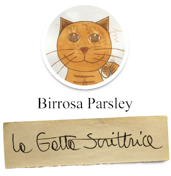 Birrosa Parsley - La Gatta Scrittrice